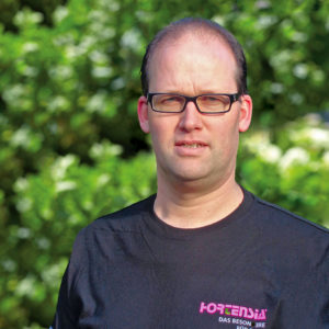 Pellens Hortensien, Markus Fischermanns
