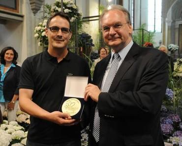 Große Goldmedaille der Buga Havelregion