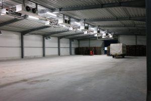 Pellens Hortensien Kühlhalle Neubau