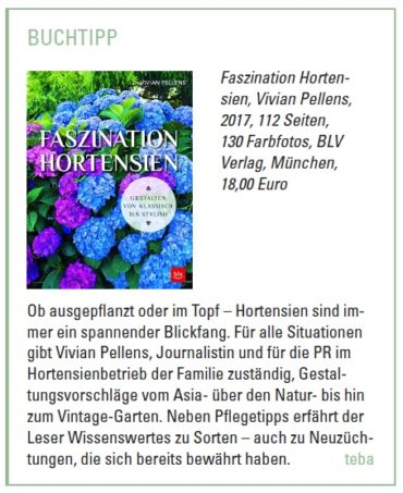 "Stories behind the book ""Faszination Hortensien"""