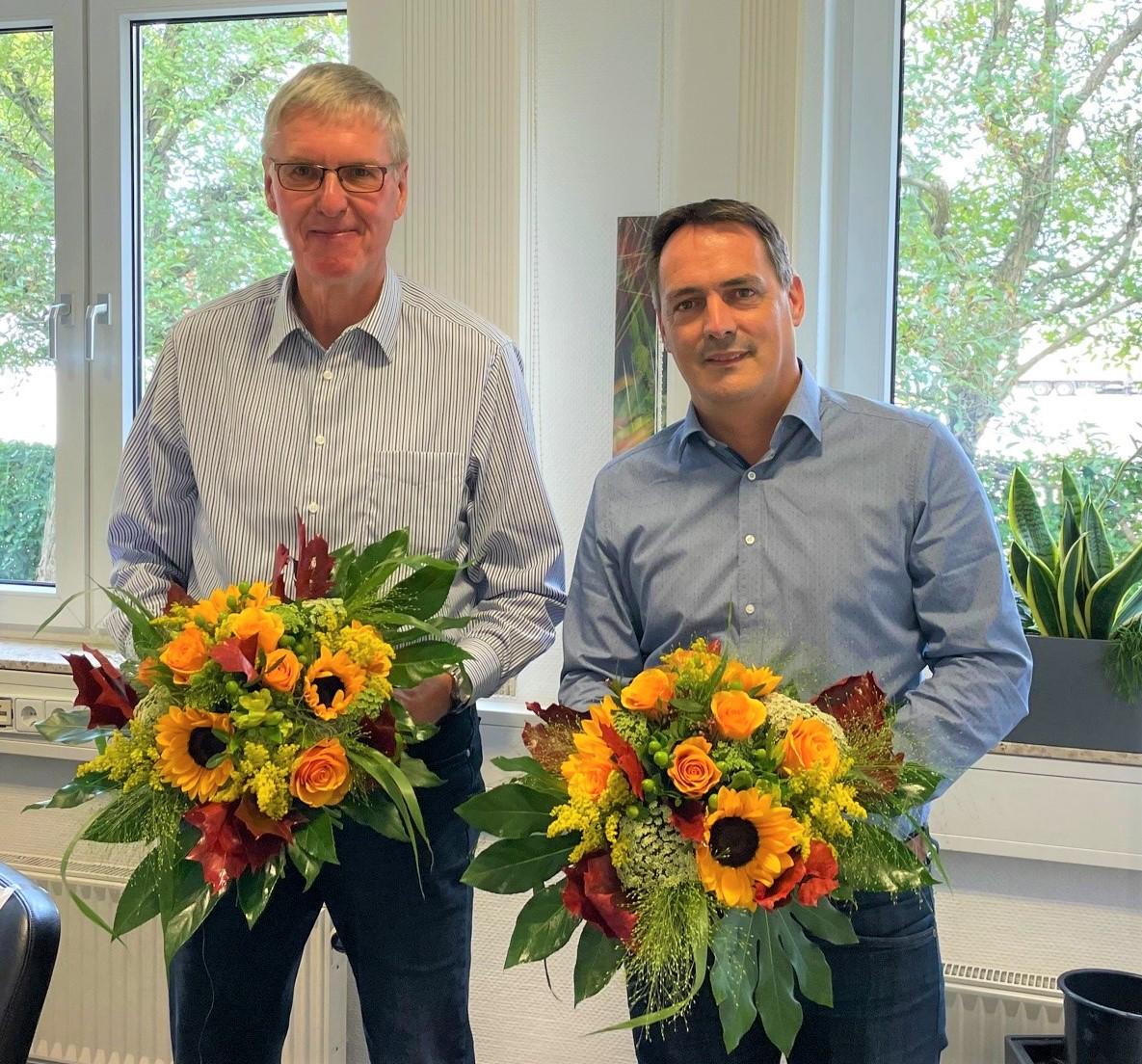 Thomas Becker und Andreas Pellens